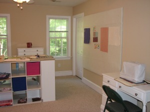 A pretty quilting studio for me